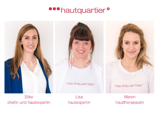 Team hautquartier hautaufklnrer gesunde haut -  Aktiv werden: Pigmentflecke!?
