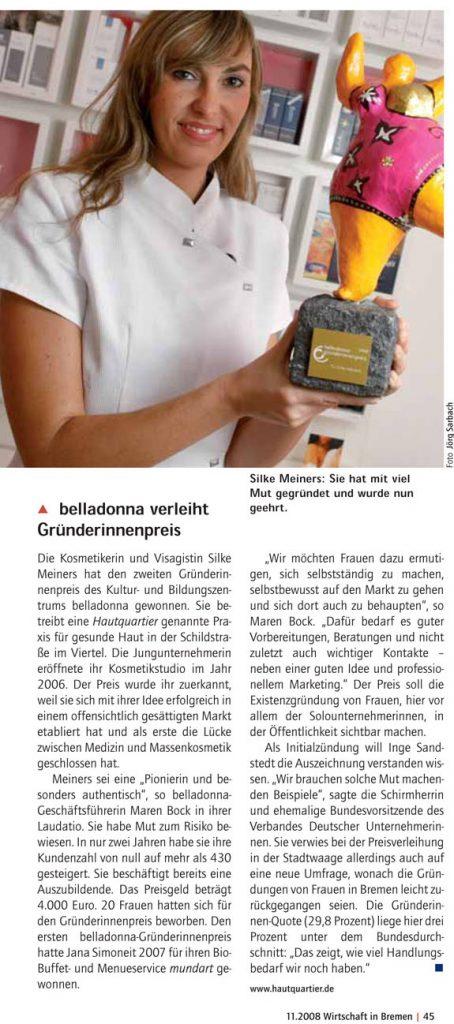 belladonna-preis Wirtschaft in Bremen Artikel