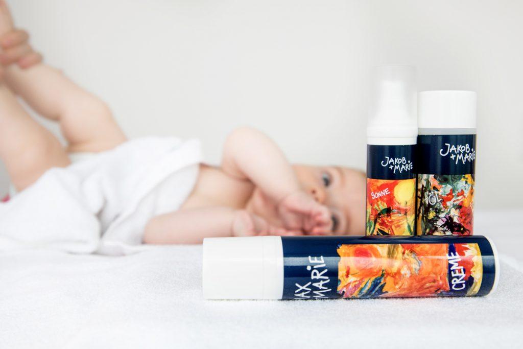 kosmetik baby naturpflege clean beauty Produkte jakob+marie rosel-heim