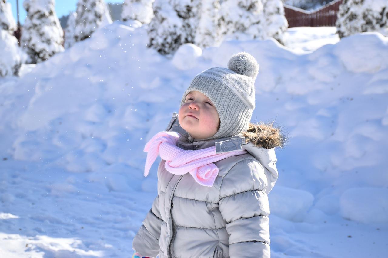 Winterpflege bei Kindern