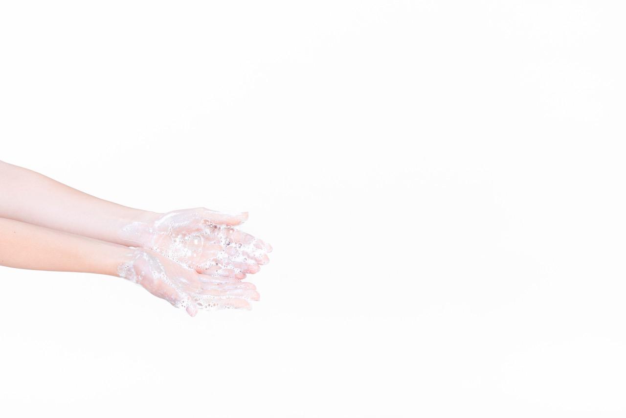 Hautreinigung Händewaschen